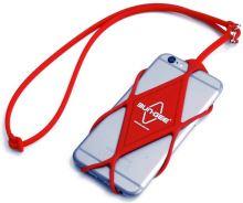 Bezpečnostní šňůra na mobilní telefon Bun-Gee red