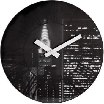 Designové nástěnné hodiny 3005 Nextime The City 39cm