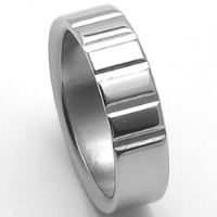 Pánský ocelový snubní prsten RZ86009