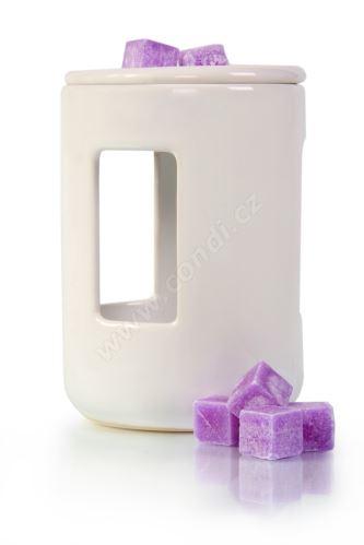 Aromalampa REVAL CERAMIC bílá - pro vonné vosky Scented Cubes