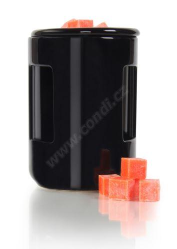 Aromalampa REVAL CERAMIC černá - pro vonné vosky Scented Cubes