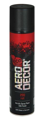 Barva ve spreji 400ml AERO DECOR - červená 200