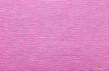Krepový papír role 50cm x 2,5m - růžový 550
