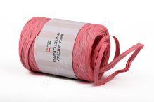 Stuha poly rafie žebrovaná 68181 5mm x 200m - 05 růžová