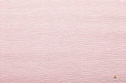 Krepový papír role 50cm x 2,5m - lososový 548