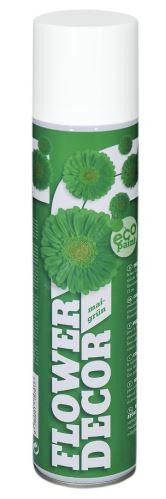 Barva ve spreji na živé květiny 400ml FLOWER DECOR - zelená 15701