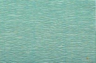 Krepový papír role 50cm x 2,5m - azurový 17E/3