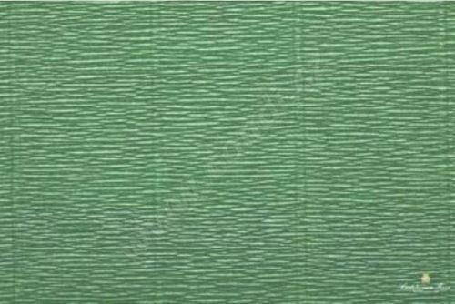Krepový papír role 50cm x 2,5m - zelený 565