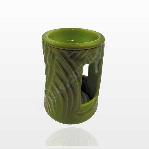 Aromalampa REVAL CERAMIC zelená - pro vonné vosky Scented Cubes