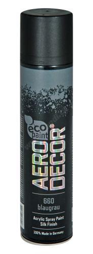 Barva ve spreji 400ml AERO DECOR - tmavě šedá 660