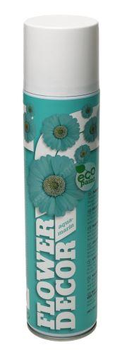 Barva ve spreji na živé květiny 400ml FLOWER DECOR - aquamarinová 14001