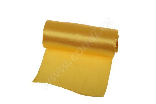 Saténová role 12cm x 9,1m 98 - žlutá