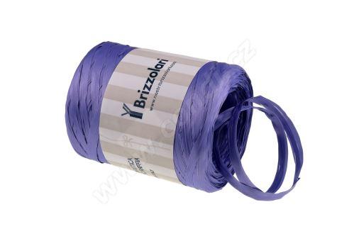 Stuha rafie matná 6802 5mm x 200m - 17 tmavě fialová