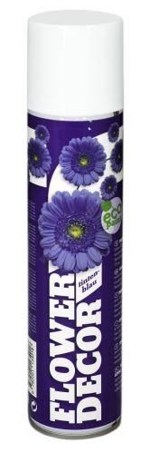 Barva ve spreji na živé květiny 400ml FLOWER DECOR - inkoustově modrá 13401