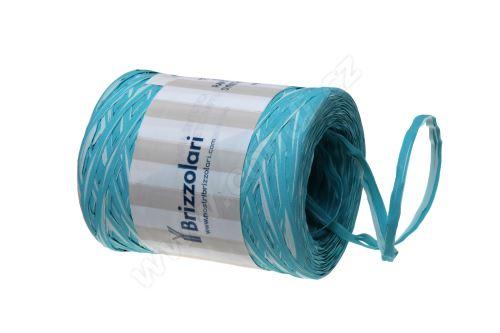 Stuha poly rafie vícebarevná 68170 MM 5 X 200 MT - 38-TYRKYSOVÁ