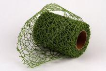 Dekorativní tkanina Big spider 10cm x 4,6m TM. ZELNÁ