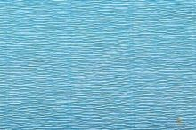 Krepový papír role 50cm x 2,5m - blankytně modrý 556