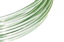 Dekorační drát hliníkový - mátově zelený