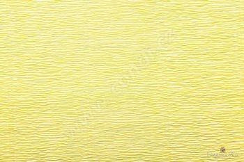 Krepový papír role 50cm x 2,5m - žlutá 574