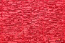 Krepový papír role 50cm x 2,5m - červená 580