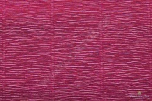 Krepový papír role 50cm x 2,5m - tmavě červený 584