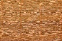 Krepový papír role 50cm x 2,5m - sv. hnědý 567