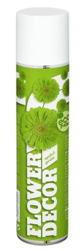 Barva ve spreji na živé květiny 400ml FLOWER DECOR - světle zelená 15151