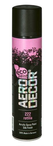 Barva ve spreji 400ml AERO DECOR - růžovofialová 222