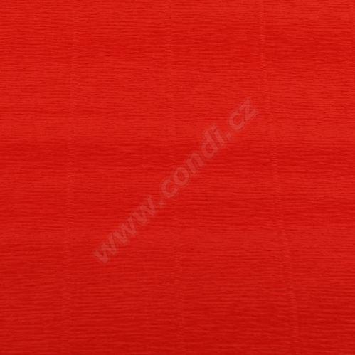 Krepový papír role 50cm x 2,5m - světle červený 618