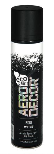 Barva ve spreji 400ml AERO DECOR - bílá 800