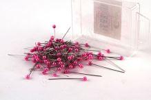 Dekorační špendlík do klopy 38mm růžový