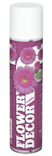 Barva ve spreji na živé květiny 400ml FLOWER DECOR - růžovofialová 12221