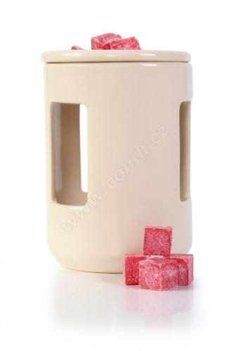 Aromalampa REVAL CERAMIC béžová - pro vonné vosky Scented Cubes