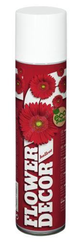 Barva ve spreji na živé květiny 400ml FLOWER DECOR - světle červená 12001