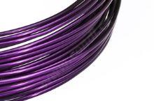 Dekorační drát hliníkový - lilek