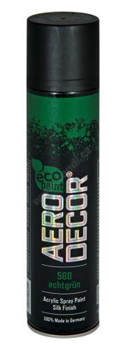 Barva ve spreji 400ml AERO DECOR - tmavě zelená 560