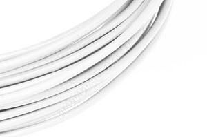 Dekorační drát hliníkový - bílý