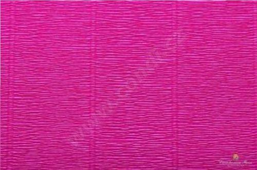 Krepový papír role 50cm x 2,5m - cyklámenový 552
