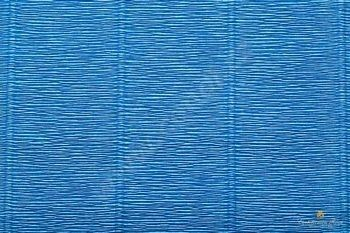 Krepový papír role 50cm x 2,5m - modrá 557