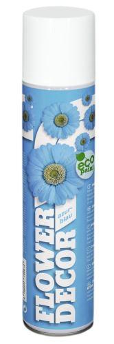 Barva ve spreji na živé květiny 400ml FLOWER DECOR - azurová 15061
