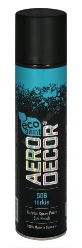 Barva ve spreji 400ml AERO DECOR - tyrkysová 506