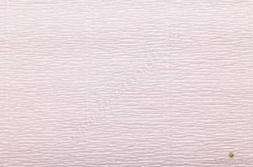 Krepový papír role 50cm x 2,5m - světle růžový 569