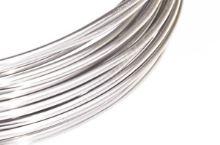 Dekorační drát hliníkový - stříbrný