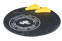 EDCO břidlicové prkénko na sýr s náčiním 23cm