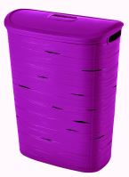 Curver Koš na špinavé prádlo RIBBON 49l fialový