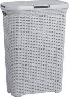 Curver Koš na špinavé prádlo STYLE 40l šedý