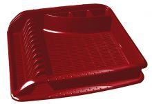 Keeeper Odkapávač na nádobí velký pierre, červený