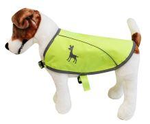 Alcott reflexní vesta pro psy, žlutá, velikost S