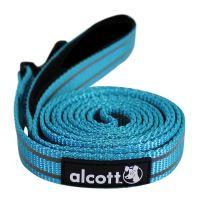 Alcott reflexní vodítko pro psy, modré, velikost M