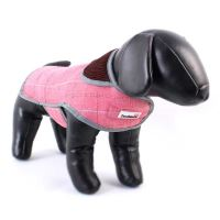 Doodlebone kabát, Tweedie, růžový, velikost M